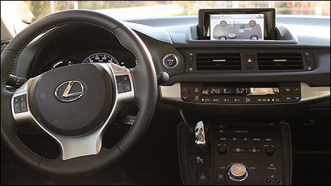 2012 Lexus CT 200h Interior