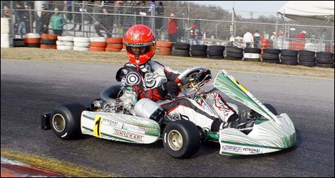 F1 Michael Schumacher Karting Tony Kart