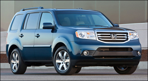 Massive Recall On Honda Pilot And Odyssey In Canada