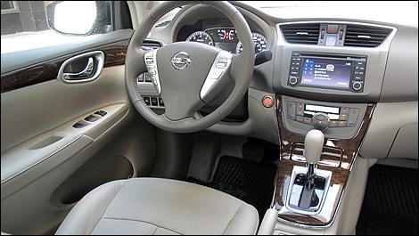 2013 Nissan Sentra 1.8 SV Interior