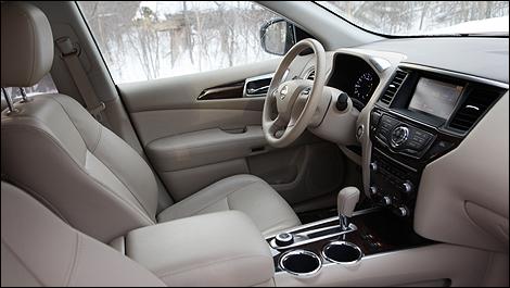 Charming 2013 Nissan Pathfinder SL Interior