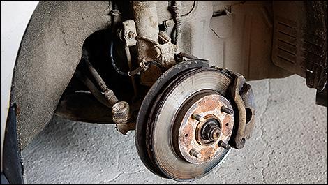 L 39 usure des freins for Usure pneu exterieur avant
