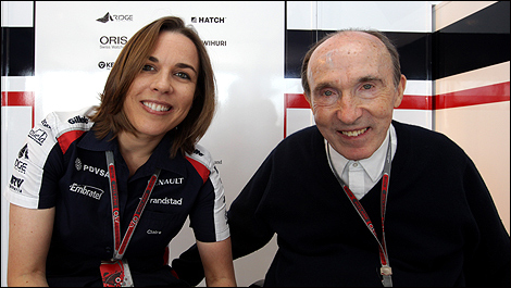 F1 Claire Frank Williams