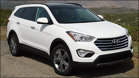 2013 hyundai santa fe xl first impressions. Black Bedroom Furniture Sets. Home Design Ideas