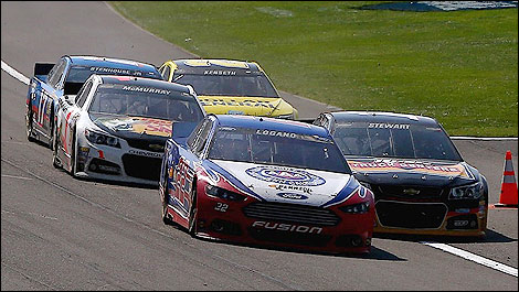 NASCAR Logano Stewart McMurry Stenhouse Jr Kenseth