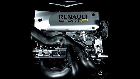 F1 Renault engine V6 turbo