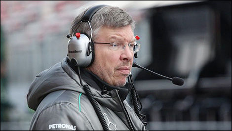 F1 Mercedes AMG Ross Brawn