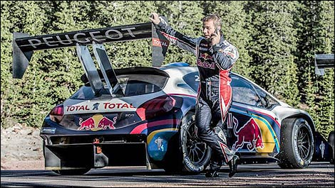 Rally Citroen Racing Sebastien Loeb Pikes Peak