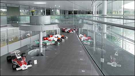 f1: 10 facts you didn't know about the mclaren technology centre
