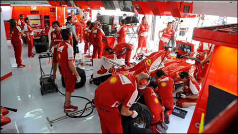 F1 schumacher prost whitmarsh voient un duo ferrari for Garage schumacher metz