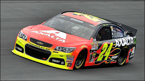 Jeff Gordon Chevrolet >> Nascar Jeff Gordon On Charlotte Pole Auto123 Com