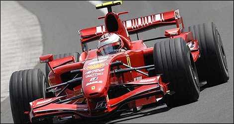 F Racing Car For Raikkonen