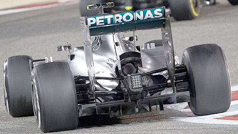 F1 Mercedes Secret Is Double Diffuser Of 2014 Auto123 Com