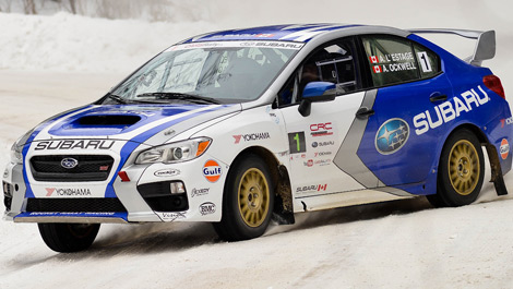 Rally Antoine L Estage Wins First Rally With Subaru Auto123 Com