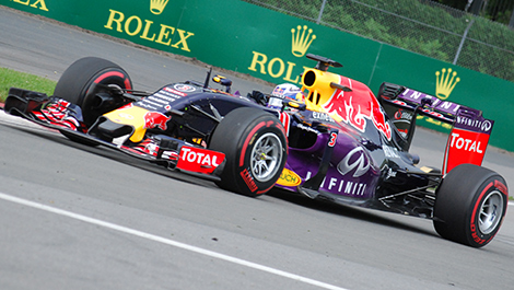 Daniel Ricciardo, Red Bull Racing, Montréal (Photo: René Fagnan)