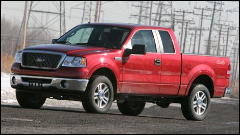2007 ford f 150 supercab lariat 4wd flex fuel road test. Black Bedroom Furniture Sets. Home Design Ideas