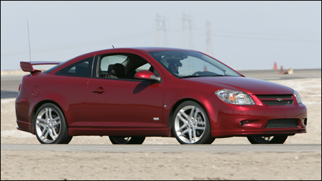 Turbocharged Chevrolet Cobalt SS Coupe arriving in dealerships
