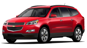 2012 Chevrolet Traverse 1LT