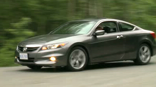 2011 honda accord ex l v6 navi coupe review video. Black Bedroom Furniture Sets. Home Design Ideas