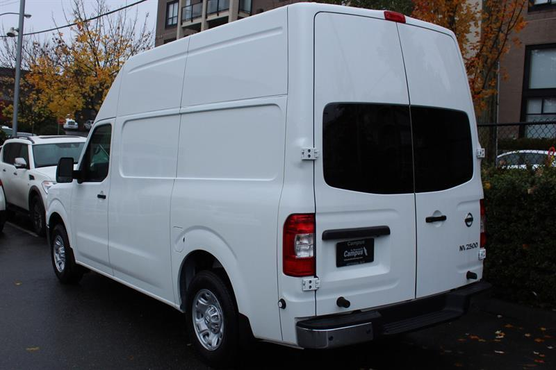 Nissan NV2500 HD SV High Roof Cargo 11