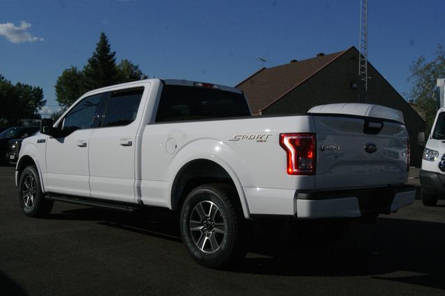 Ford F-150 4x4 Super Crew Long Bed XLT 3