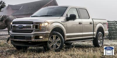 2018 Ford F-150 4x4 Super Cab Short Bed