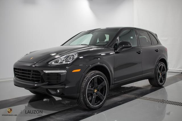 v hicule porsche cayenne platinum edition 2017 neuf vendre laval qu bec 7923553 auto123. Black Bedroom Furniture Sets. Home Design Ideas