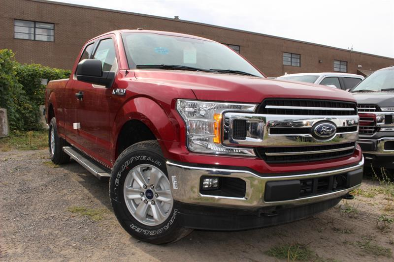 Ford F-150 4x4 Super Cab Short Bed 1