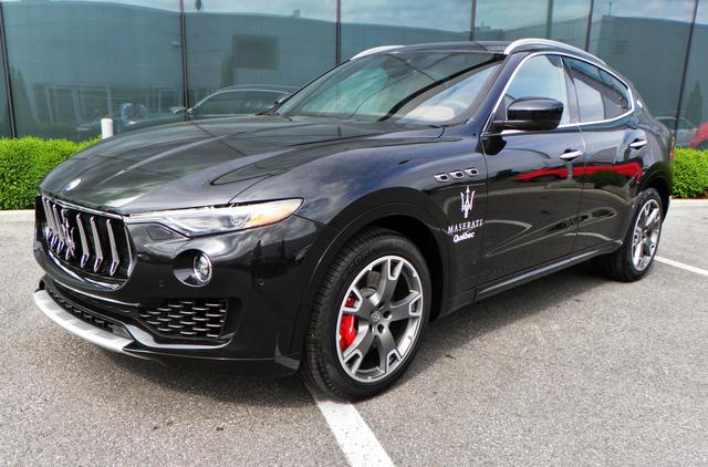 used maserati levante vehicles for sale in quebec - second hand