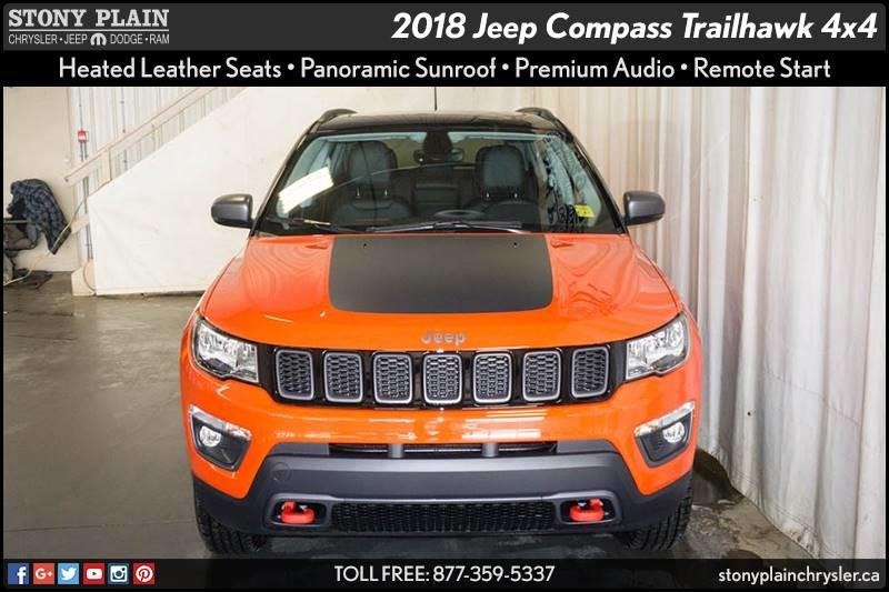 v hicule jeep compass 2018 neuf vendre stony plain alberta 8977092 auto123. Black Bedroom Furniture Sets. Home Design Ideas