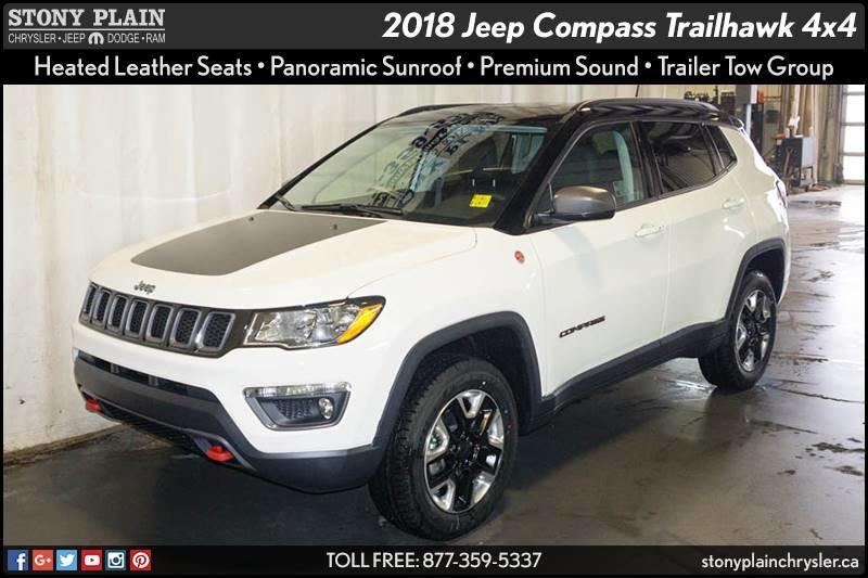 v hicule jeep compass 2018 neuf vendre stony plain alberta auto123. Black Bedroom Furniture Sets. Home Design Ideas