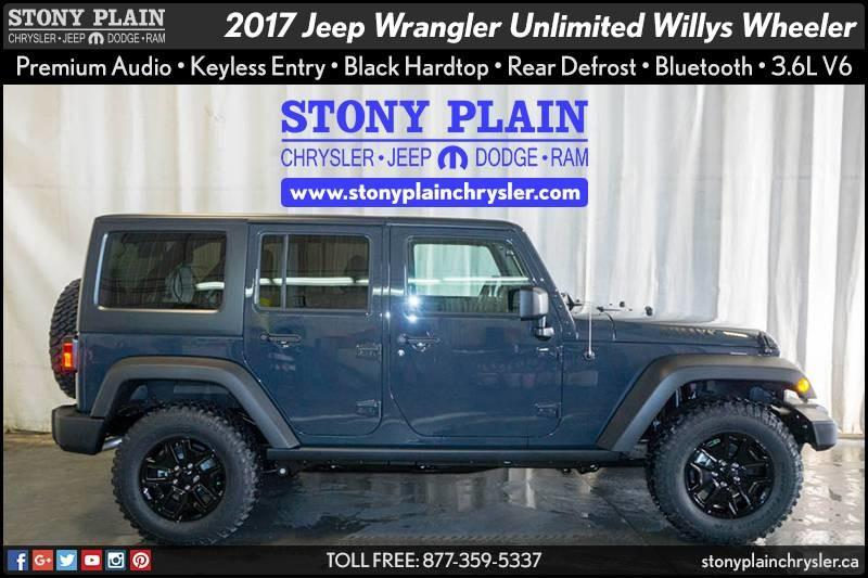 2017 Jeep Wrangler JK Unlimited
